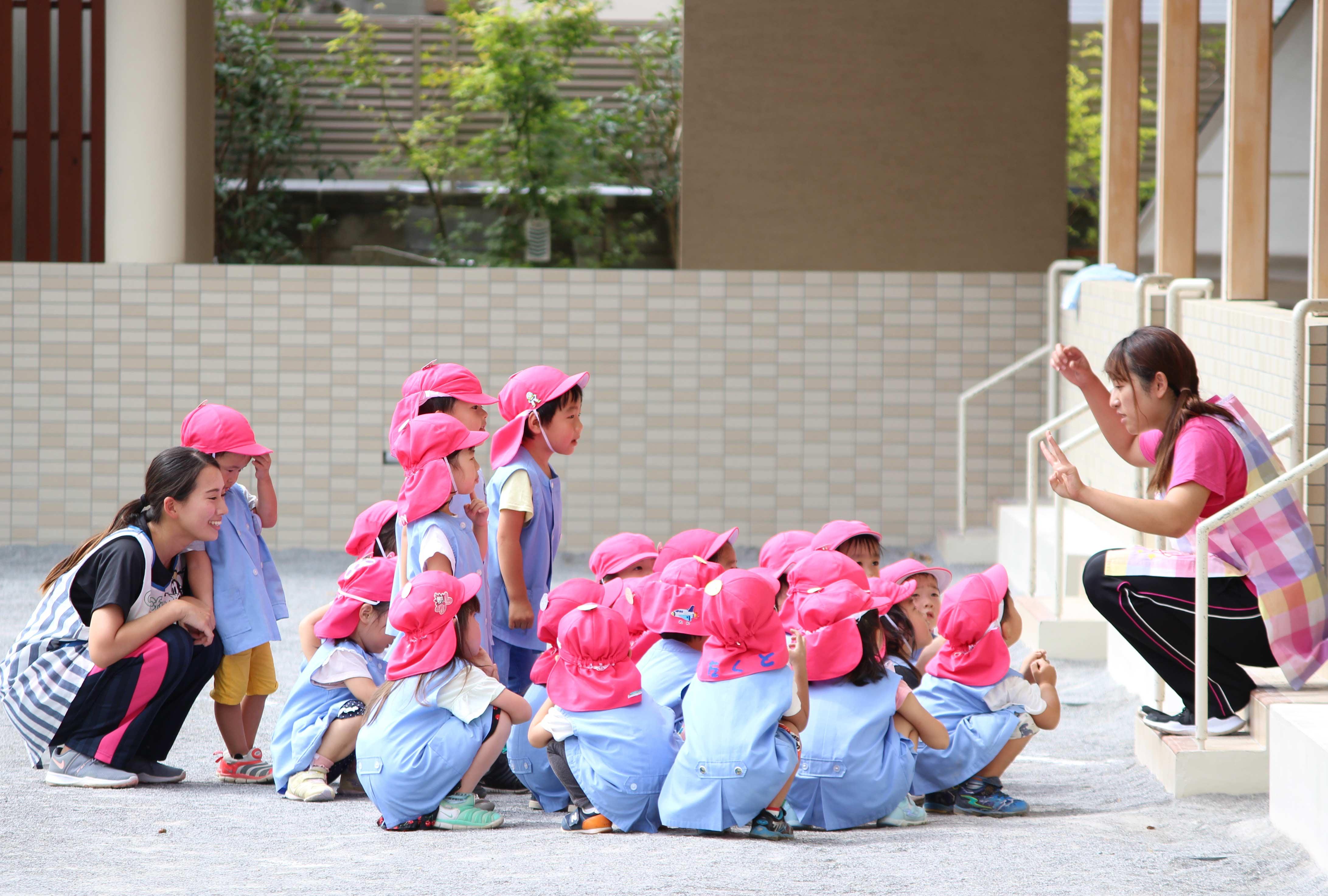 心の通った保育を大切に。さいたま市南区の浦和若竹幼稚園